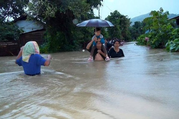 Manipur floods,Manipur,North East,Manipur flood photos,Manipur landslides,Manipur rains,rain photo,flood photo,raining,disaster,north east photos,India