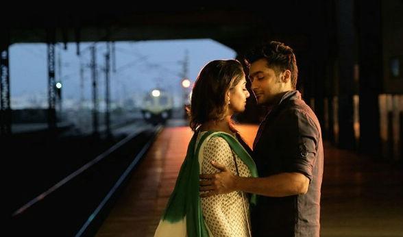 Suriya and Nayantara stills from Rakshasudu Movie
