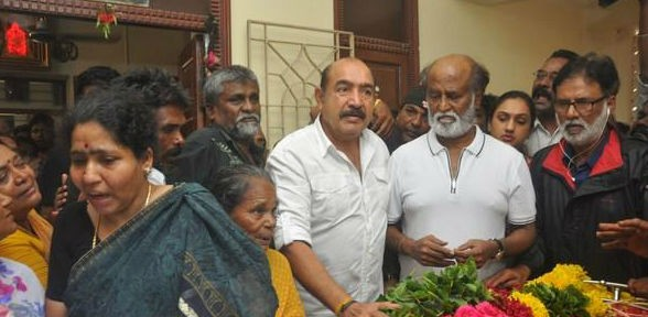 Rajinikanth,Karthi,Vishal,'Aachi' Manorama,Manorama,actress manorama passed away,Manorama dead,celebs pays last respect to 'Aachi' Manorama,celebs pays last respect to Manorama,Jayalalithaa