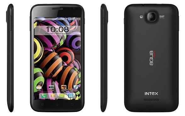 Intex Launches Curved-Smartphone 'Aqua Curve' in India; Price and Availability Details