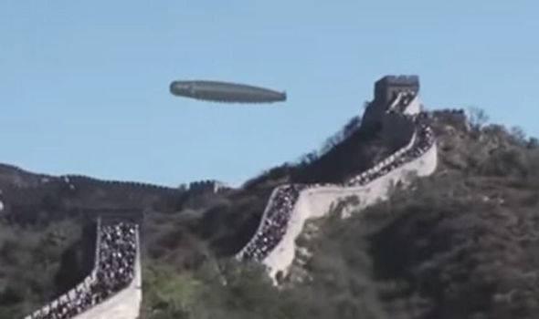 ufo, Great Wall of China,