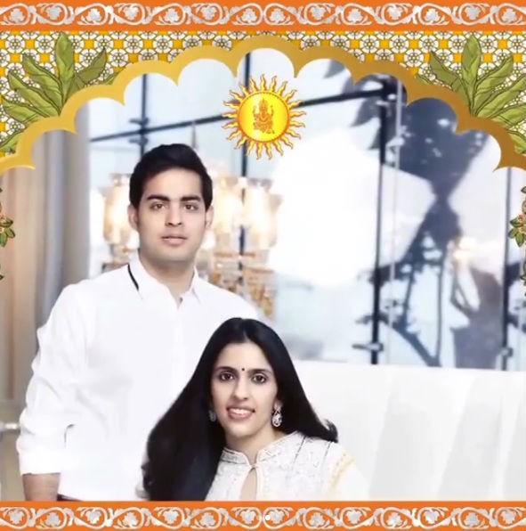 Mukesh Ambani-Nita Ambani,Mukesh Ambani,Nita Ambani,Akash Ambani,Akash Ambani engagement card,Akash Ambani Invitation card,Akash Ambani wedding card,Shloka Mehta,Shloka Mehta Engagement Invitation