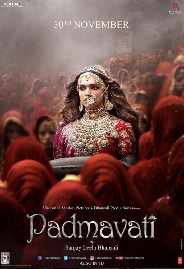 Deepika Padukone,actress Deepika Padukone,Padmavati poster,Padmavati new poster,Padmavati movie poster