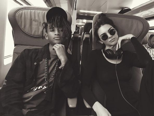Jaden Smith and Kendall Jenner