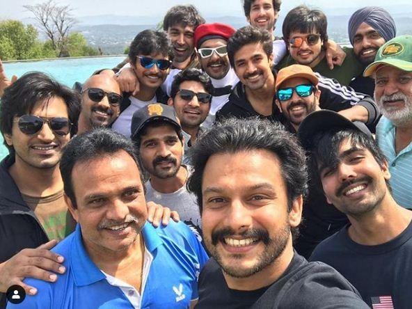 Ranveer Singh's 83 Team