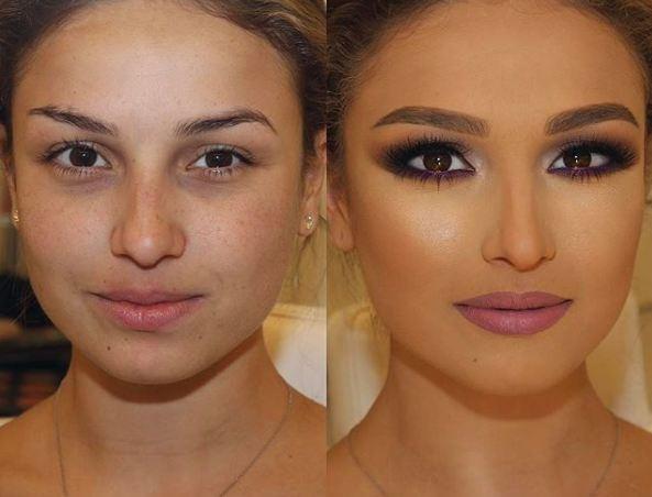 Makeup,bridal makeup,makeup transformations,unbelievable makeup transformations