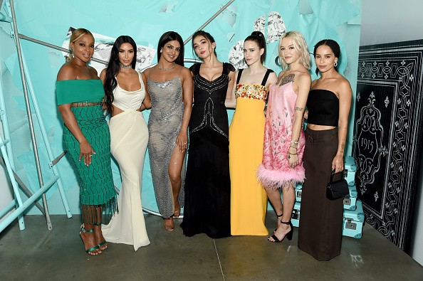 Mary J. Blige,Kim Kardashian West,Priyanka Chopra,Rowan Blanchard,Rachel Brosnahan,Bria Vinaite,Tiffany & Co.'s,Tiffany & Co.'s Gala,Tiffany Blue Book Collection,celebs at Tiffany Blue Book Collection