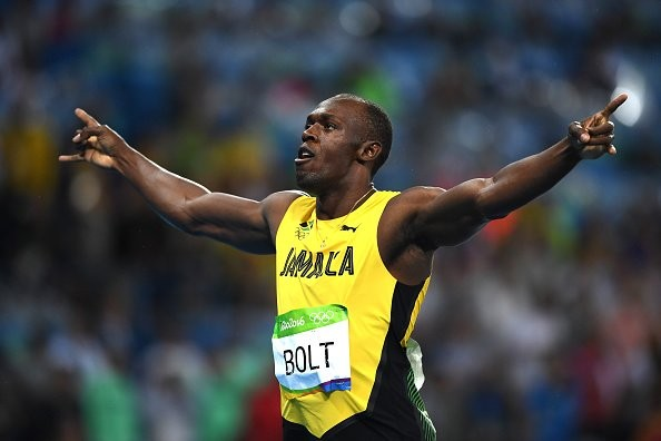 Usain Bolt,Usain Bolt wins 200m title,Rio Olympics,Usain Bolt  third consecutive Olympics title,Usain Bolt winner,Usain Bolt pics,Usain Bolt images,Usain Bolt photos,Usain Bolt stills