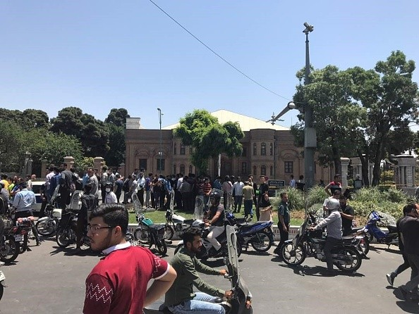 Gunmen attack,Gunmen attack Iranian parliament,Iranian parliament,Iranian Parliament building,Khomeini shrine,Tehran