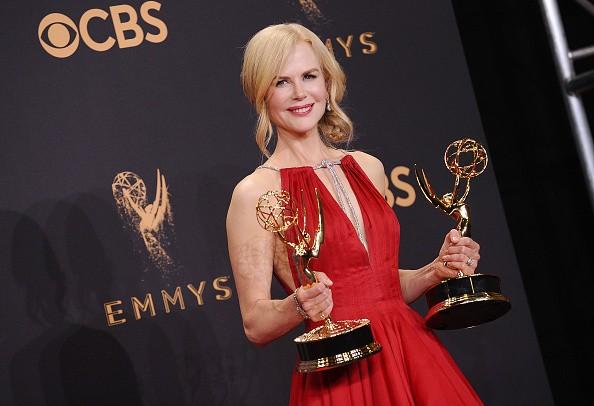 Nicole Kidman,Oscar winner Nicole Kidman,Nicole Kidman wins her first Emmy Award,Nicole Kidman wins Emmy Award,Emmy Award,Emmy Award 2017,Big Little Lies,Big little lies Nicole Kidman