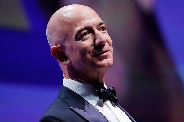 Amazon CEO Jeff Bezos,Jeff Bezos,Jeff Bezos richest man,Jeff Bezos richest man in history,Amazon CEO