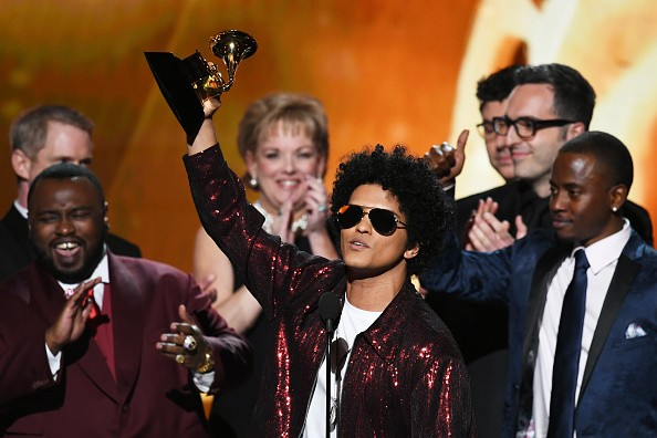 Bruno Mars,singer Bruno Mars,That's What I Like,60th Grammy Awards,Grammy Awards,Grammy Awards winners
