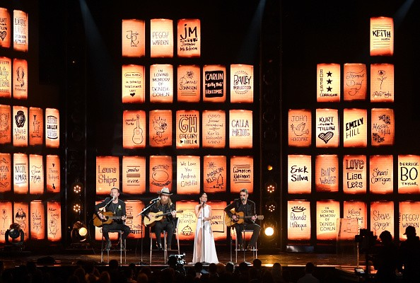T.J. Osborne,John Osborne,Maren Morris,Eric Church,Tears in Heaven,60th Annual GRAMMY Awards,Grammys 2018,Grammys awards