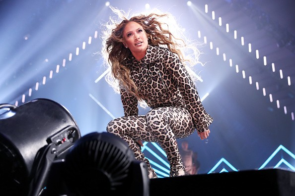 Jennifer Lopez,Jennifer Lopez  in leopard print,Jennifer Lopez in leopard print catsuit,Jennifer Lopez leopard print catsuit,hot Jennifer Lopez,Jennifer Lopez Super Saturday Night Concert,Super Saturday Night Concert