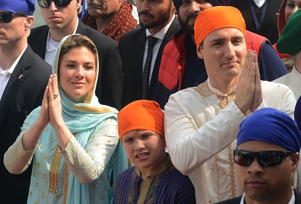 Canadian Prime Minister Justin Trudeau,Justin Trudeau,Justin Trudeau visits Golden Temple,Golden Temple,Justin Trudeau at Golden Temple