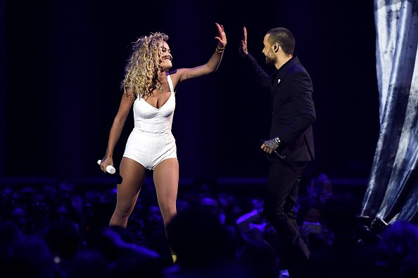 Rita Ora and Liam Payne,Rita Ora,Liam Payne,Fifty Shades,For You song,Brit Awards 2018,celebs at  Brit Awards 2018