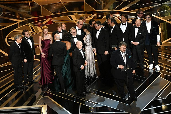 Guillermo del Toro,The Shape Of Water,Best Director,Oscars 2018 best director,Best Picture,Oscars 2018 best picture,Oscars 2018,Oscars 2018 winners