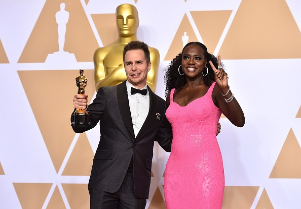 Sam Rockwell,best supporting actor,Three Billboards,Sam Rockwell wins first Oscar,Oscars 2018,Oscars 2018 pics,Oscars 2018 winners