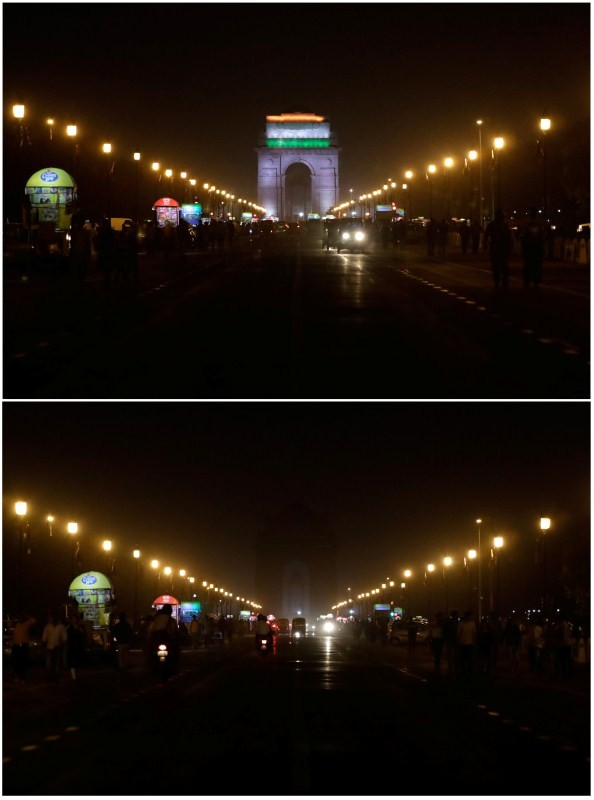 Before and after pictures,Before and after,Before and after pics,Before and after images,World marks Earth Hour 2018,World marks Earth Hour