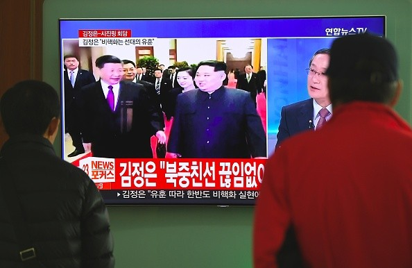 North Korea,Kim Jong-Un,Kim Jong-Un meets President Xi Jinping,Chinese President Xi Jinping,North Korea and China
