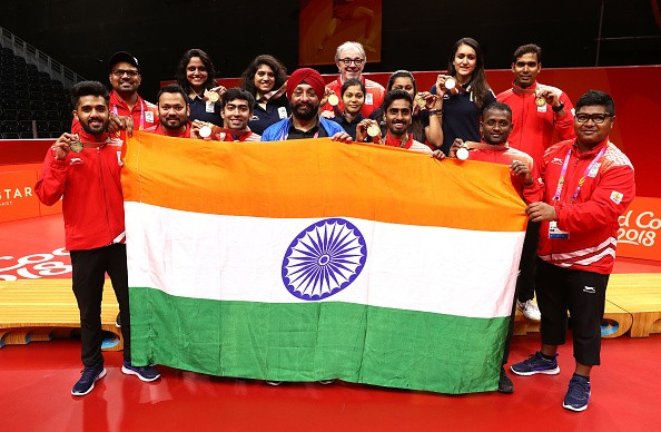 CWG 2018,Commonwealth Games,Commonwealth Games 2018,table tennis team,Achanta Sharath Kamal,Bode Abiodun