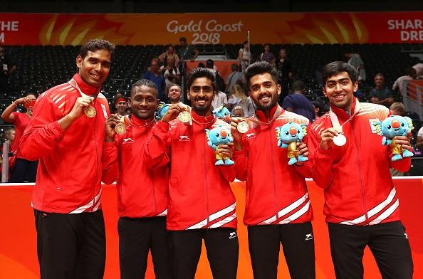CWG 2018,Commonwealth Games,Commonwealth Games 2018,table tennis team,Achanta Sharath Kamal,Bode Abiodun