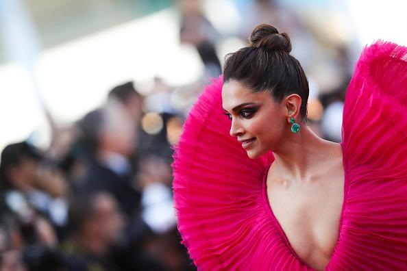 Deepika Padukone,actress Deepika Padukone,Deepika Padukone pink gown,Deepika Padukone  at Cannes 2018,Deepika Padukone  at Cannes,Deepika Padukone Cannes pics,Deepika Padukone Cannes images