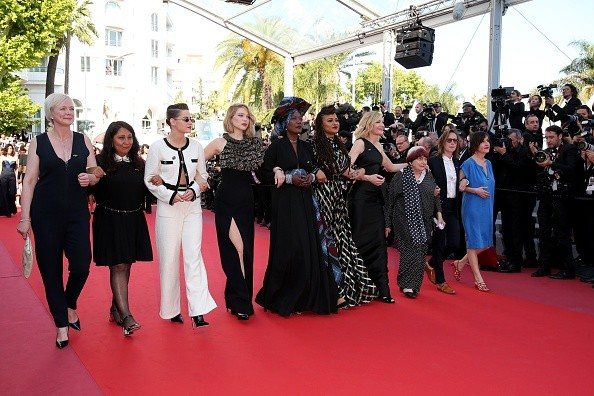 Cannes 2018,Cannes Film Festival,Cannes film festival 2018,protest at Cannes,Cannes protest,Cannes protest pics,Cannes protest images