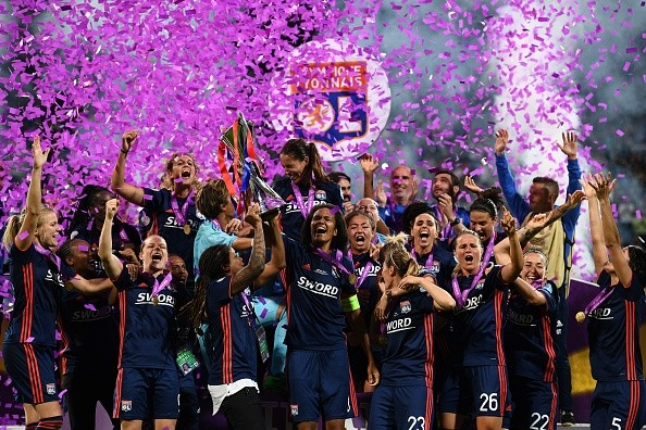 Lyon women beat Wolfsburg,Lyon beat Wolfsburg,Lyon win record 5th Women's Champions League title
