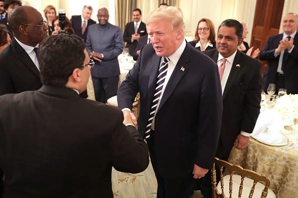 US President,US President Donald Trump,Donald Trump,Donald Trump hosts Iftar dinner,Iftar dinner,hosts Iftar dinner at white house,Ramadan Mubarak,Ramadan Mubarak 2018