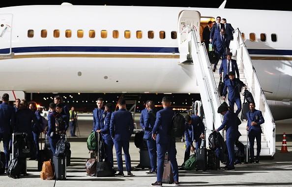 2018 FIFA World Cup,FIFA World Cup,FIFA World Cup 2018,FIFA World Cup Russia,Team Brazil,Brazil Team,Brazil arrives in Russia,Brazil team arrives in Russia