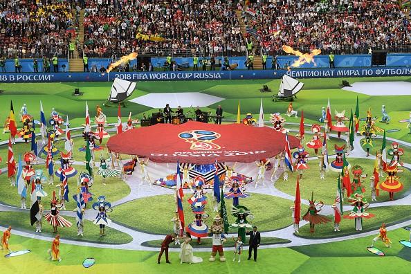 Russian President Vladimir Putin,Vladimir Putin,FIFA World Cup 2018,FIFA World Cup,FIFA World Cup colourful ceremony,FIFA World Cup colourful ceremony pics,FIFA World Cup colourful ceremony images,FIFA World Cup colourful ceremony stills,FIFA World Cup co