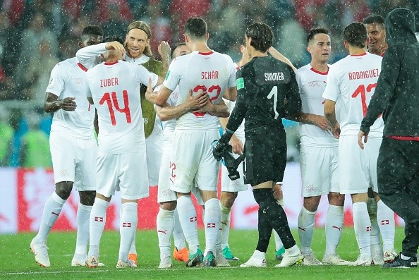 Switzerland beat Serbia,Switzerland vs Serbia,Switzerland beat Serbia by 2-1,FIFA World Cup,FIFA World Cup 2018,Group E clash,Kaliningrad Stadium