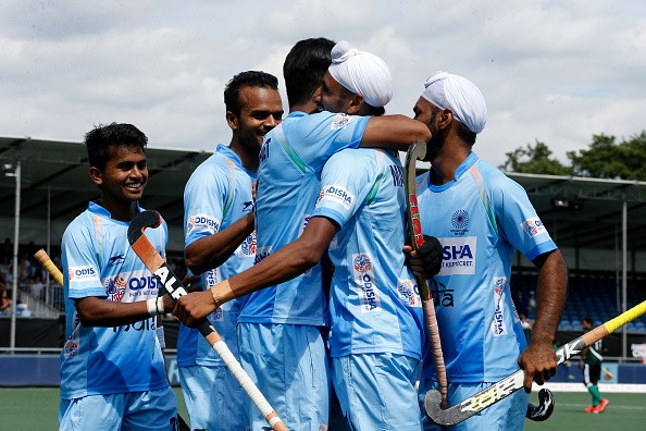 Hockey champions trophy 2018,Hockey champions trophy,India beat Pakistan 4-0,India beat Pakistan,India trash Pakistan,Ramandeep Singh,Dilpreet Singh,Mandeep Singh