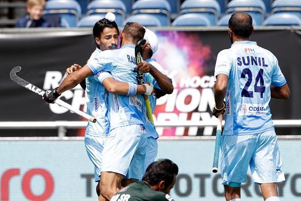 Hockey champions trophy 2018,Hockey champions trophy,India beat Pakistan 4-0,India beat Pakistan,India trash Pakistan,Ramandeep Singh,Dilpreet Singh,Mandeep Singh