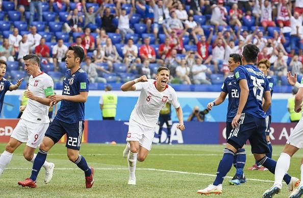 FIFA World Cup,Japan enter pre-quarters,Japan beats Poland,FIFA World Cup pre-quarterfinals,Group H,2018 FIFA World Cup,FIFA World Cup 2018