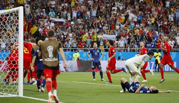 FIFA World Cup,FIFA World Cup 2018,2018 FIFA World Cup,Belgium beats Japan,Belgium beats Japan 3-2