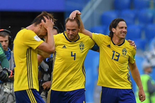 FIFA World Cup,Winger Emil Forsberg,Sweden beat Switzerland,Sweden trash Switzerland,Sweden quarter-final,Sweden in quarter-final