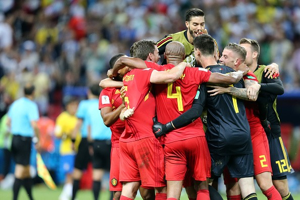 FIFA World Cup,Belgium eliminate Brazil,Belgium beats Brazil,Belgium enter semis,FIFA World Cup 2018