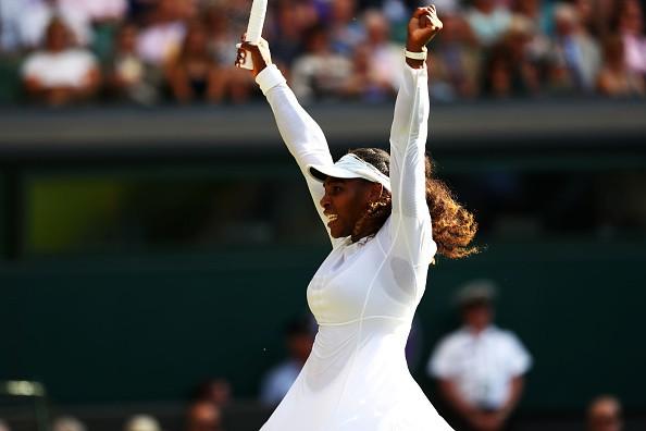 Wimbledon 2018,Serena Williams beats Kristina Mladenovic,Serena Williams,Kristina Mladenovic,Wimbledon,Serena Williams advances to round 4,.Serena Williams in Wimbledon,Wimbledon pics,Wimbledon images,Wimbledon stills