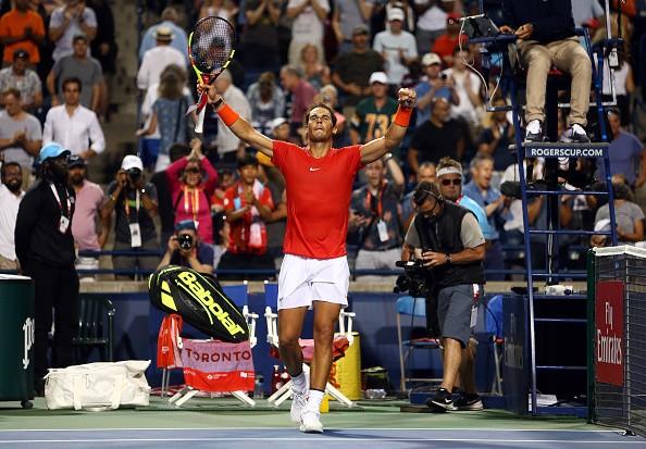Rafael Nadal,Rafael Nadal beats Stan Wawrinka,Stan Wawrinka,Toronto Masters,Toronto Masters 2018,tennis star Rafael Nadal