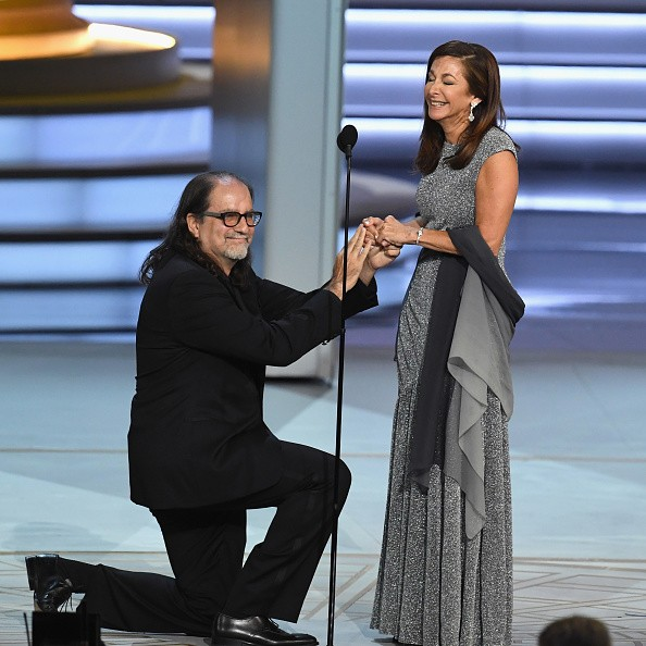 Emmy winner Glenn Weiss,Glenn Weiss,Glenn Weiss marriage proposal,Jan Svendsen,Glenn Weiss shocks Emmy Awards