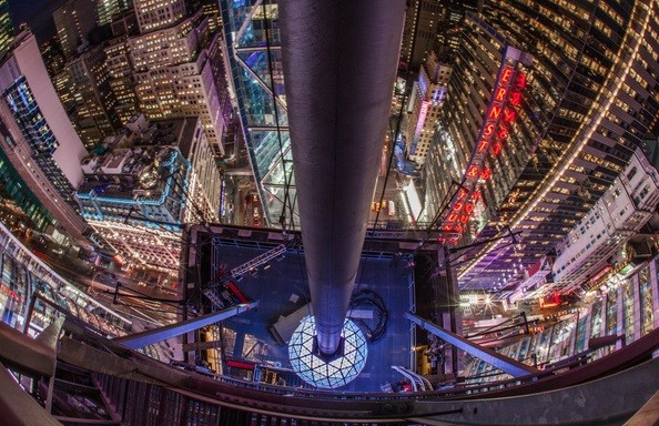 Times Square New Year's Ball Drop 2015