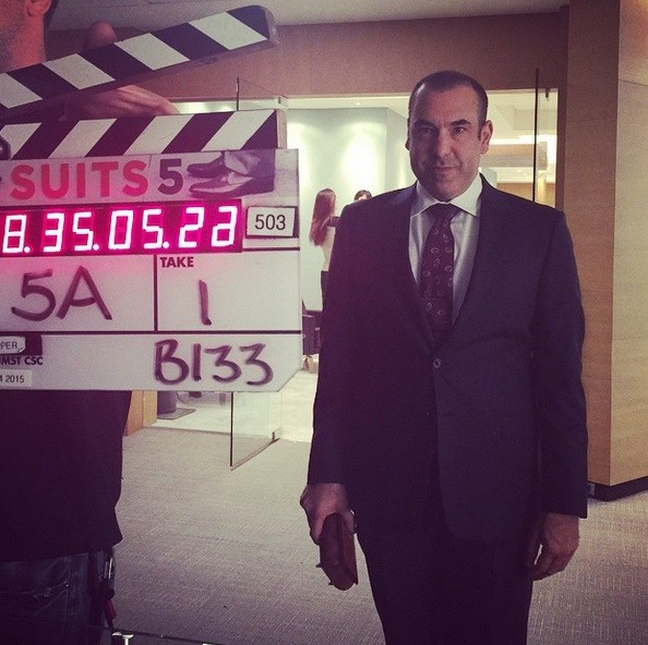 Louis Litt waiting for 'Action'