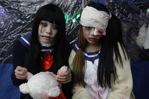 Halloween in Korea file image