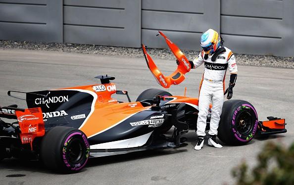 Fernando Alonso, Stoffel Vandoorne, McLaren, Formula One, Honda, McLaren Mercedes