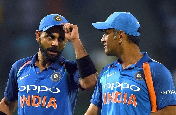 Virat Kohli and MS Dhoni