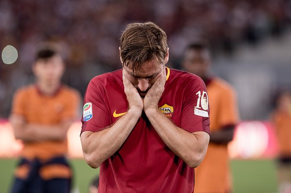Francesco Totti , Roma, Francesco Totti  farewell, Francesco Totti's farewell video