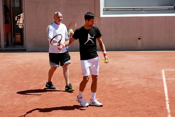 Andre Agassi, Novak Djokovic, French Open, Steffi Graff