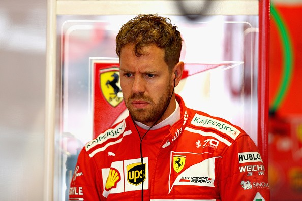 Lewis Hamilton, Sebastian Vettel,  Azerbaijan Grand Prix 2017, Formula One, Valtteri Bottas